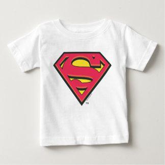 Logotipo clásico del S-Escudo el | del superhombre Camiseta De Bebé