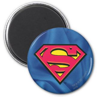 Logotipo clásico del S-Escudo el | del superhombre Imanes