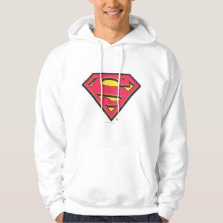 Logotipo clásico del S-Escudo el | del superhombre Sudadera