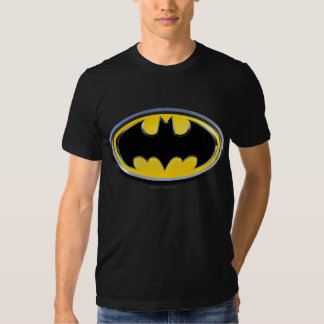 Logotipo clásico del símbolo el   de Batman Camiseta