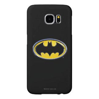 Logotipo clásico del símbolo el | de Batman Funda Samsung Galaxy S6