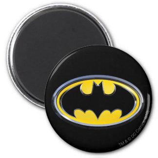 Logotipo clásico del símbolo el   de Batman Imanes