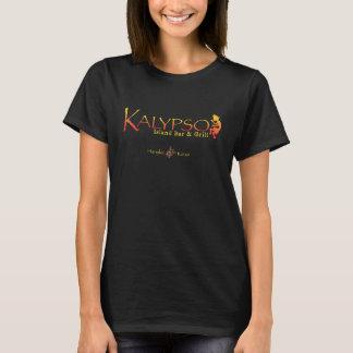 Logotipo colorido de Kalypso con la tortuga de mar Camiseta