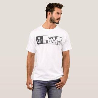 Logotipo completo creativo de WCP Camiseta