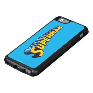 Logotipo conocido clásico del superhombre el | funda otterbox para iPhone 6/6s