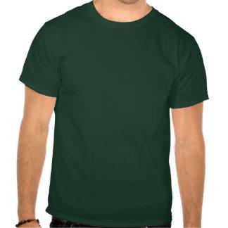 Logotipo cuadrado del atletismo en oro camisetas