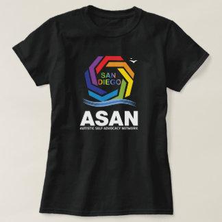 Logotipo de ASAN San Diego Camiseta