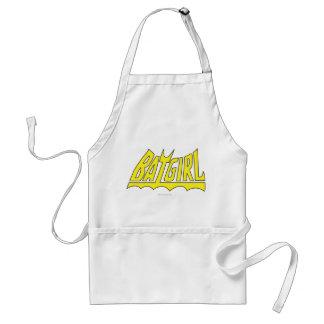 Logotipo de Batgirl Delantal
