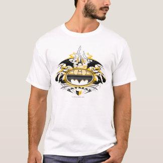 Logotipo de Batman con los coches Camiseta