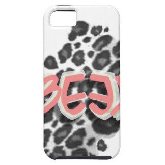 Logotipo de Beek (estampado de animales) iPhone 5 Case-Mate Cobertura