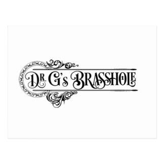 Logotipo de Brasshole Postal