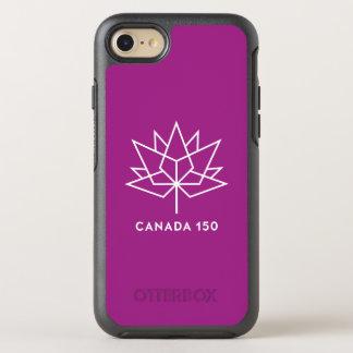 Logotipo de Canadá 150 Funda OtterBox Symmetry Para iPhone 7