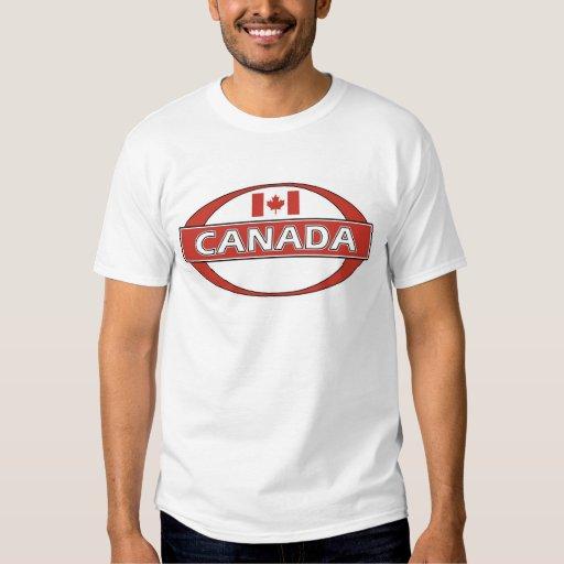 Logotipo de Canadá Camisas
