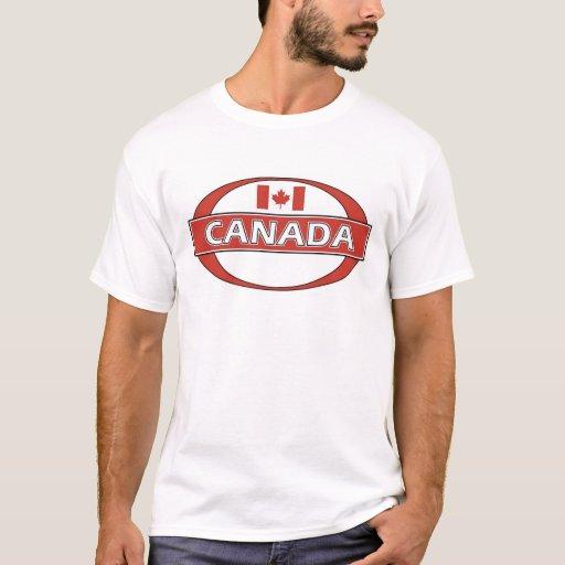 Logotipo de Canadá Camiseta