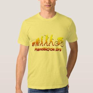 Logotipo de ciclo de Plano Firestarter 3D Camisas