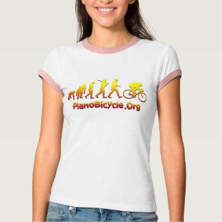 Logotipo de ciclo de Plano Firestarter 3D Camisetas