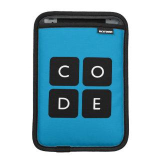 logotipo de Code.org Funda Para iPad Mini