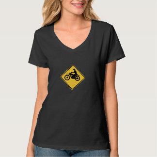 Logotipo de Cyclemedic de las mujeres Camiseta