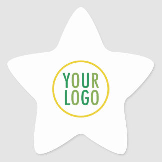 Logotipo de encargo del negocio de los pegatinas pegatina en forma de estrella