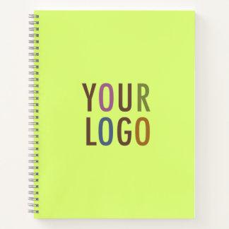 Logotipo de encargo del negocio del cuaderno