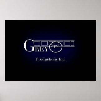 Logotipo de GreySpot Póster