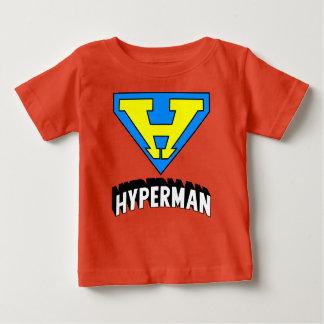 Logotipo de Hyperman Camiseta De Bebé