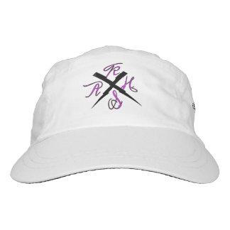 Logotipo de Kash, gorra tejido del funcionamiento, Gorra De Alto Rendimiento