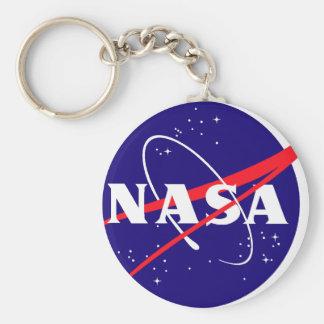 Logotipo de la albóndiga de la NASA Llaveros Personalizados