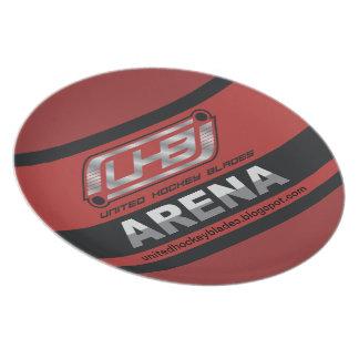 Logotipo de la arena de UHB Platos