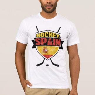 Logotipo de la bandera de España del hockey sobre Camiseta