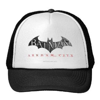 Logotipo de la ciudad de Batman Arkham Gorras