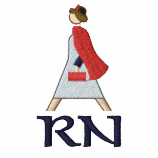 Logotipo de la enfermera registradoa
