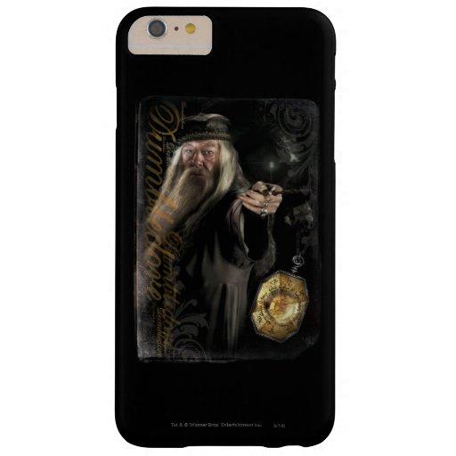 Logotipo de la escritura de Dumbledore Funda De iPhone 6 Plus Barely There