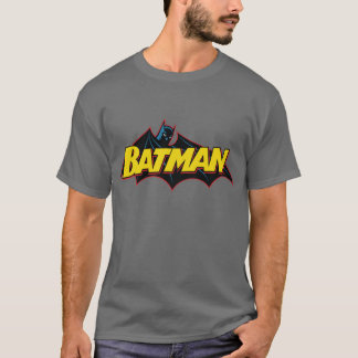Logotipo de la escuela vieja de Batman el | Camiseta