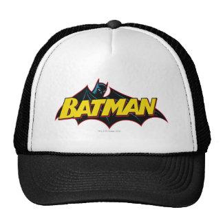 Logotipo de la escuela vieja de Batman Gorros Bordados