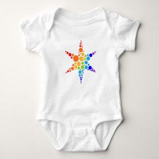 Logotipo de la estrella body para bebé