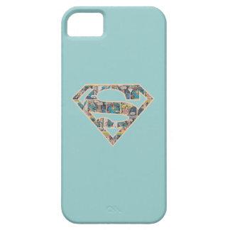 Logotipo de la historieta de Supergirl iPhone 5 Cárcasa
