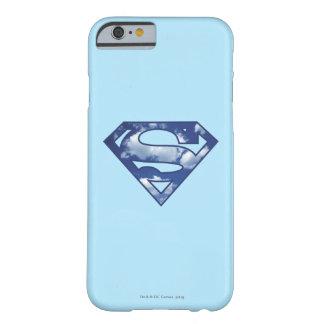 Logotipo de la nube de Supergirl Funda Para iPhone 6 Barely There