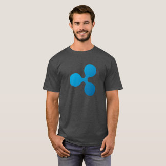 Logotipo de la ondulación (XRP) - camiseta