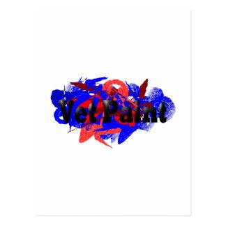 Logotipo de la pintura del veterinario postal
