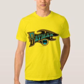 Logotipo de la turquesa del vintage de Batman el | Camisetas