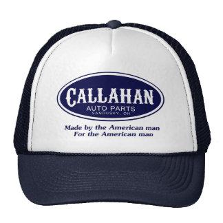 Logotipo de las piezas de automóvil de Callahan Gorras