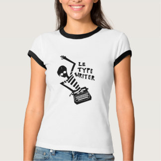 Logotipo de Le Typewriter Camisetas