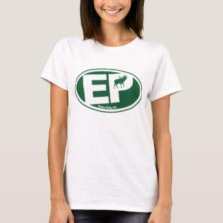 Logotipo de los alces del parque de Estes Camiseta