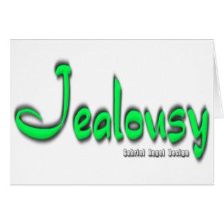 Logotipo de los celos felicitaciones