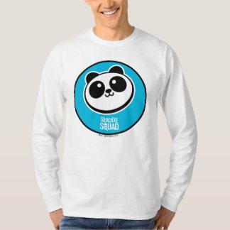 Logotipo de los proveedores de la panda del camiseta