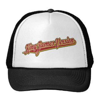 Logotipo de lujo de rey James Version Gorro