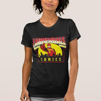 Logotipo de lujo del funcionario del LC de las Camisetas