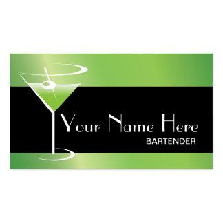 Logotipo de Martini de la tarjeta de visita del