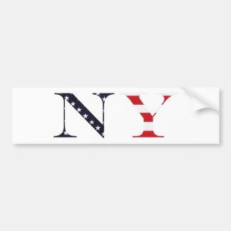 Logotipo de Nueva York Pegatina Para Coche